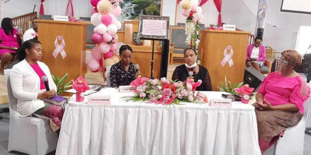 Sabbath School Leaders Promote Breast Cancer Awareness in Sint Maarten